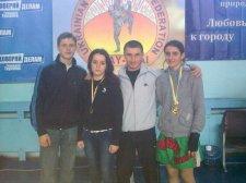 Дівчата з Житомирської області перемогли на етапі Кубку України з таїландського боксу